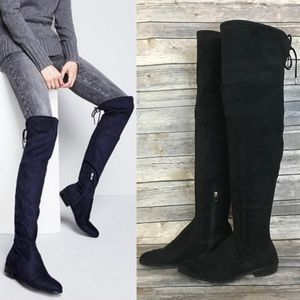 Marc Fisher Humor Over The Knee Boots